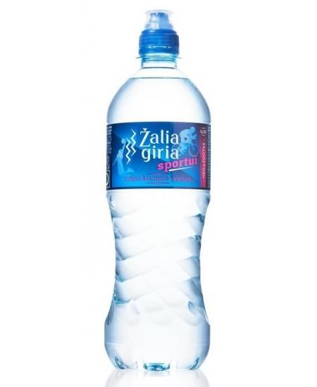 Šaltinio vanduo ŽALIA GIRIA Sportui, 750 ml, negazuotas