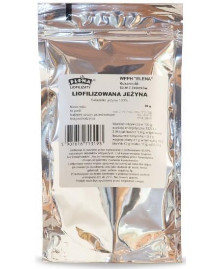 Šaltyje džiovintos (liofilizuotos) gervuogės, 30 g