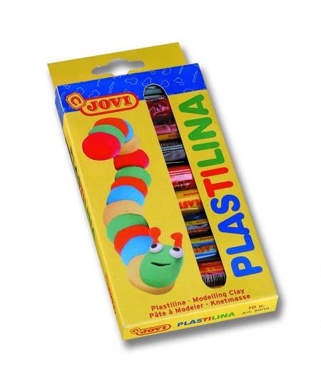 Plastilinas JOVI, 10 spalvų rinkinys, 15 g