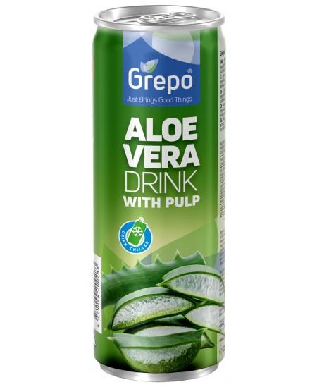 Natūralus avavijų gėrimas be cukraus GREPO, 320 ml
