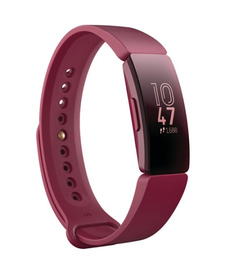 Fitbit Inspire Fitness Tracker FB412BYBY OLED, Sangria, Touchscreen, Bluetooth, Built-in pedometer, Waterproof