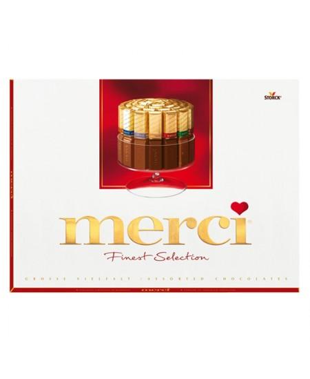 Saldainiai MERCI, dėžutėje 250 g