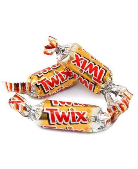 Saldainiai TWIX, 1 kg.