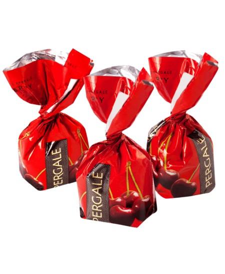 Šokoladiniai saldainiai PERGALĖ CHERRY 1kg