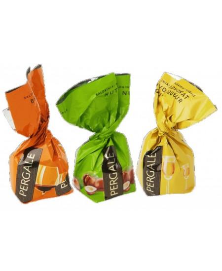 Šokoladiniai saldainiai PERGALĖ MIX 1kg