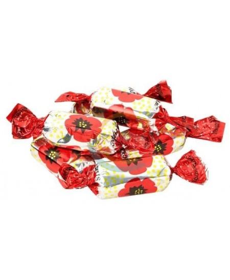 Šokoladiniai saldainiai RAUDONOJI AGUONA, 1 kg