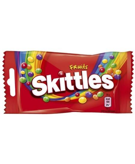 Kramtomieji saldainiai SKITTLES Fruits, 38 g