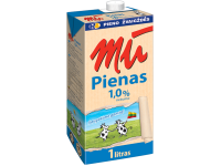 Pienas MŪ, 1% riebumo, 1 l