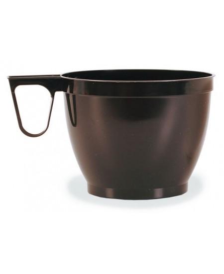 Vienkartiniai šilumai atsparūs puodeliai su rankenėle, 50 vnt.