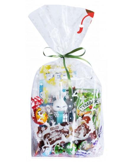 """Kalėdinis saldumynų rinkinys vaikams """"Dovanėlė"""" 405g"""