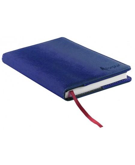 Darbo kalendorius EXECUTIVE AGENDA, A5, be datų, mėlynas