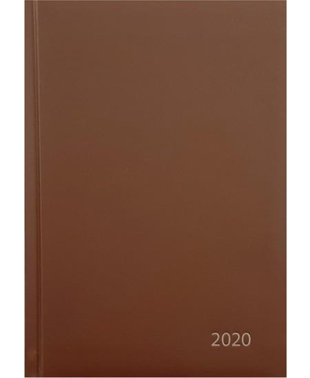 Darbo knyga STANDARD 2020, PVC, A5, ruda