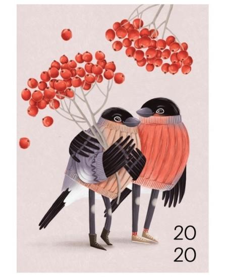 """365 svarbios dienos 2020, 12 x 16,6 cm, """"Šermukšnės"""""""