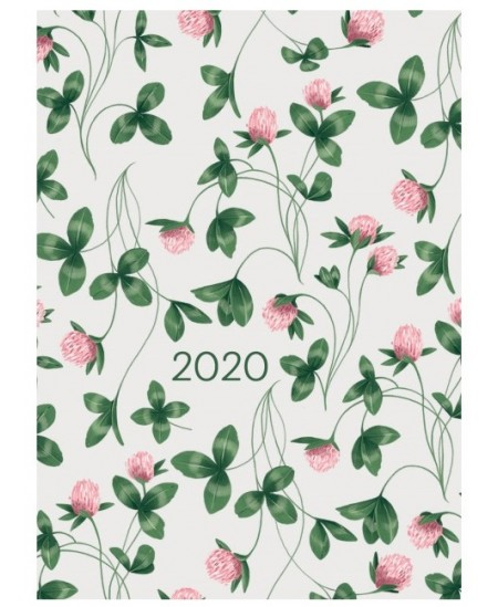 "368 svarbios dienos 2020, 12 x 16,6 cm, ""Dobilai"""