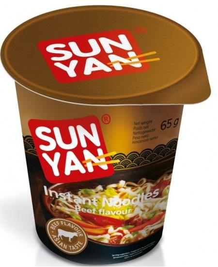 Makaronai SUN YAN su jautiena, 65 g
