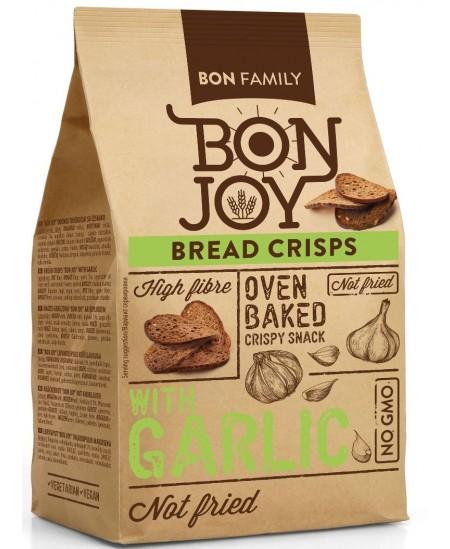 Duonos traškučiai BON JOY su česnakais, 50 g