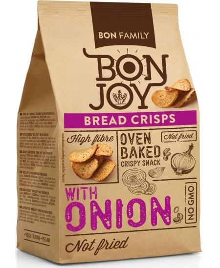 Duonos traškučiai BON JOY su svogūnais, 50 g