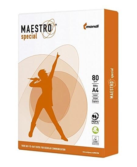 Popierius Maestro Special, 80 g/m2, A4, 500 lapų