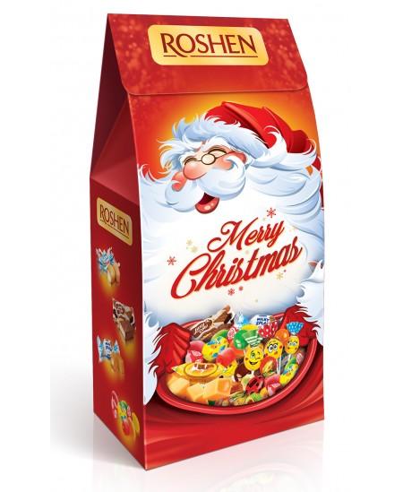 """Kalėdinių saldainių rinkinys """"SENELIO DOVANA"""" 160g. Dėžutėje"""