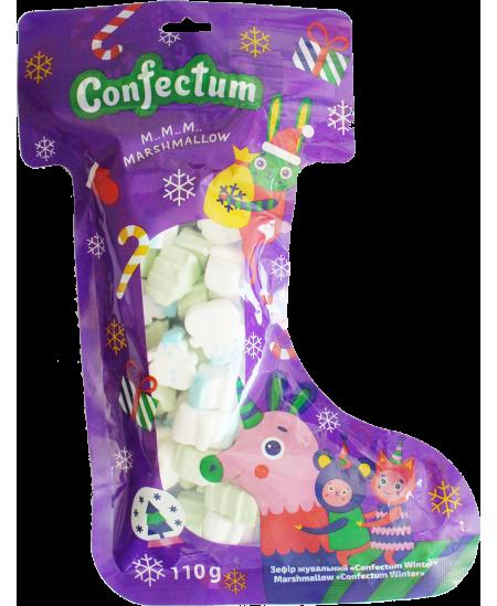 Kalėdiniai saldumynai vaikams, zefyrų rinkinys 110g