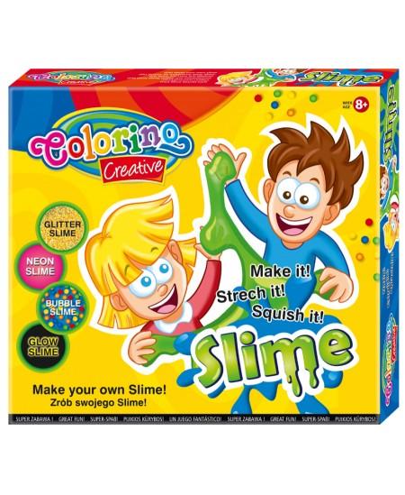 Kūrybinis šlykštukų gaminimo rinkinys COLORINO Slime