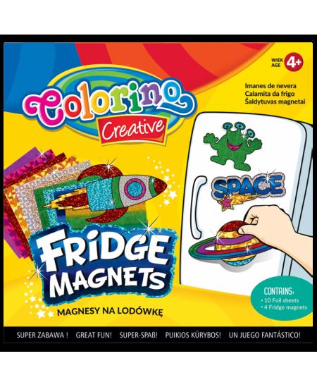 Šaldytuvo magnetukų kūrybinis rinkinys COLORINO Mix Nr. 1