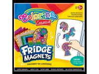 Šaldytuvo magnetukų kūrybinis rinkinys COLORINO Mix Nr. 2