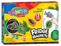 Šaldytuvo magnetukų iš gipso kūrybos rinkinys COLORINO