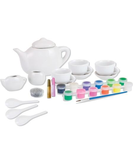 Spalvinami arbatos vakarėlio puodeliai COLORINO