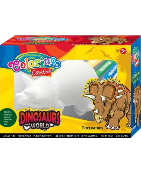 """Kūrybinis rinkinys COLORINO """"Dinozauras Triceratopsas"""""""