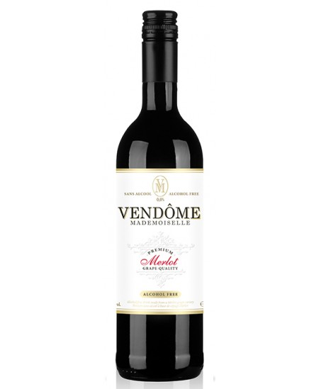 """Merlot vynas """"VENDOME"""", nealkoholinis, 0,75 l"""
