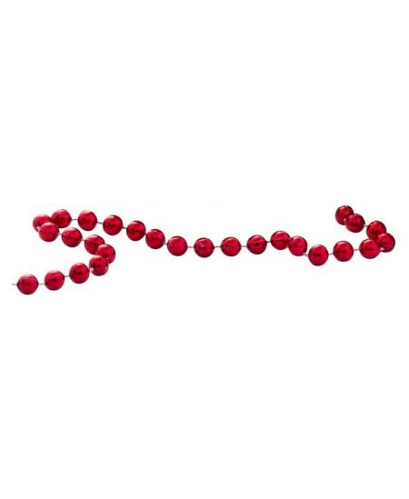 Eglutės girlianda P2, 300 cm, raudonos sp.