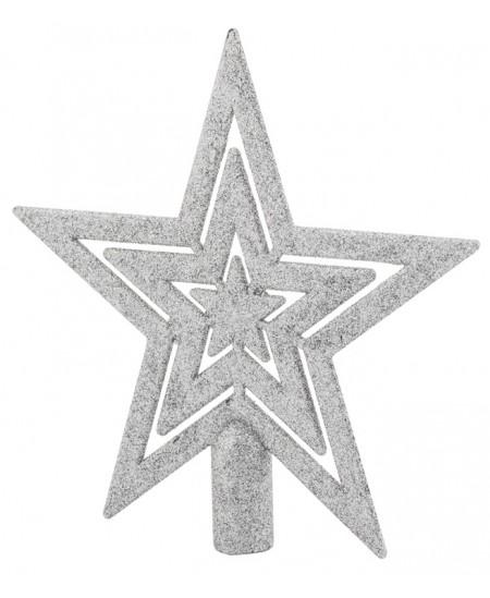 Eglutės viršūnė Žvaigždė, sidabro sp.