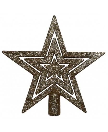 Eglutės viršūnė Žvaigždė, aukso sp.