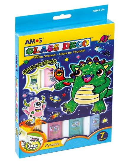 """Langų dekoravimo rinkinys AMOS """"Monstrai"""""""