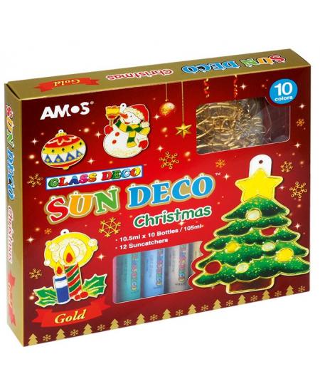 """Langų dekoravimo rinkinys AMOS """"Kalėdos"""""""