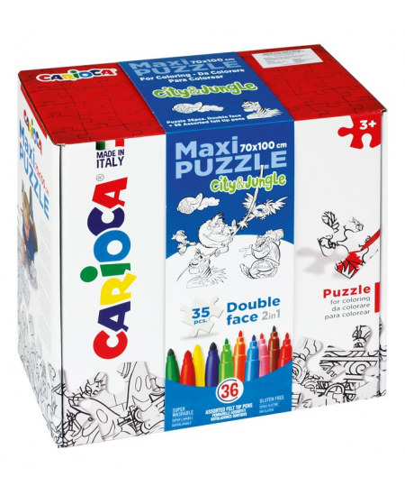 "Spalvinama dėlionė CARIOCA Maxi Puzzle ""Imperija"", 70x100cm"