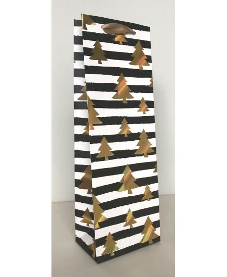 Dovanų maišelis, buteliui 34 cm x 12cm