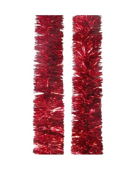 Eglutės girlianda T102, 200 cm, raudonos sp.