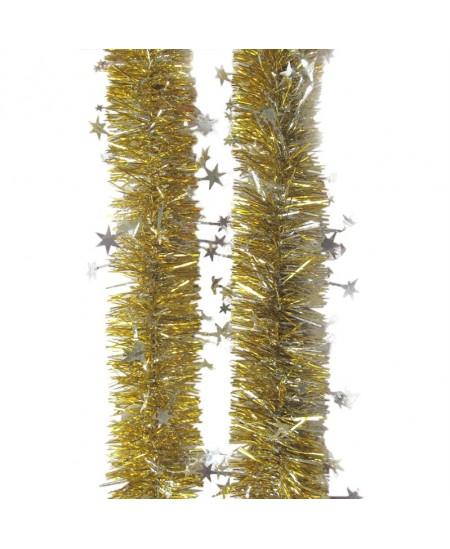 Eglutės girlianda T64, 200 cm, aukso sp.