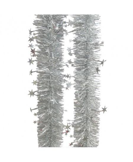 Eglutės girlianda T64, 200 cm, sidabro sp.