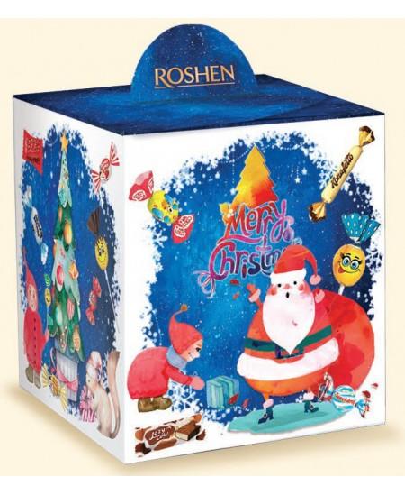 """Kalėdinių saldainių rinkinys """"KALĖDŲ PASAKA"""" 377g. Dėžutėje"""