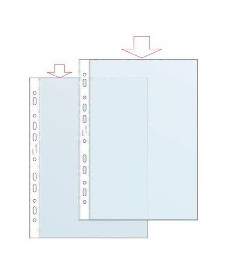 Įmautės dokumentams, 80 µm, A4, 20vnt., skaidrios