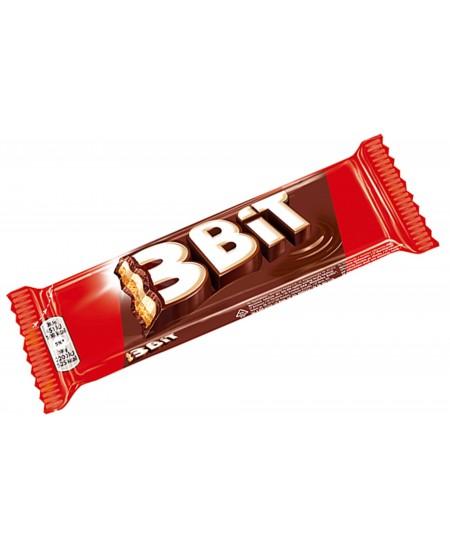Šokoladinis batonėlis 3BIT, 46 g