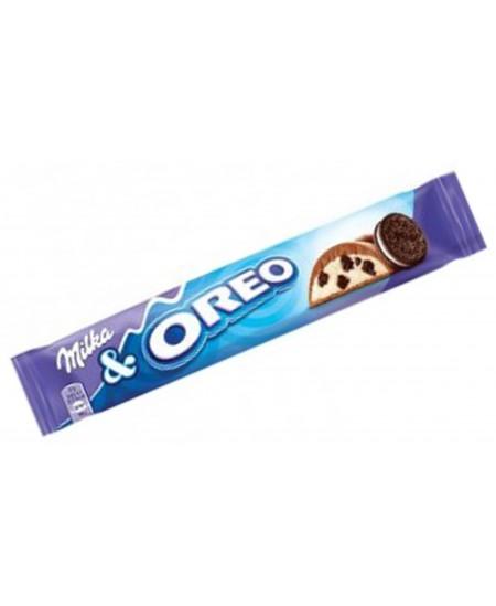 Šokoladinis batonėlis MILKA Oreo, 37 g