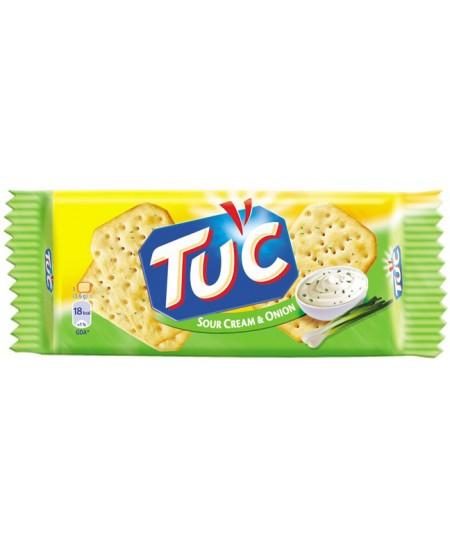 Sausainiai TUC, grietinės ir svogūnų skonio, 100 g