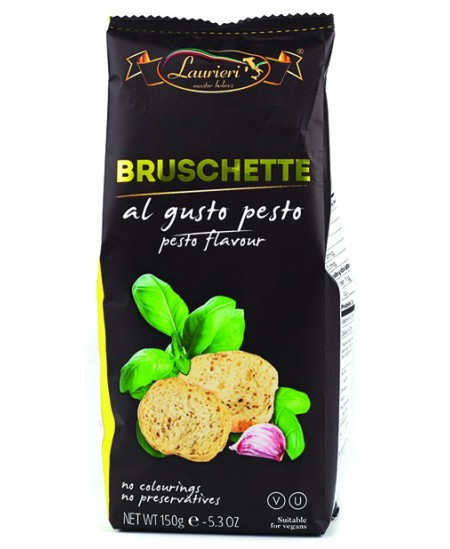 Brusketa LAURIERI, su pesto, 150 g