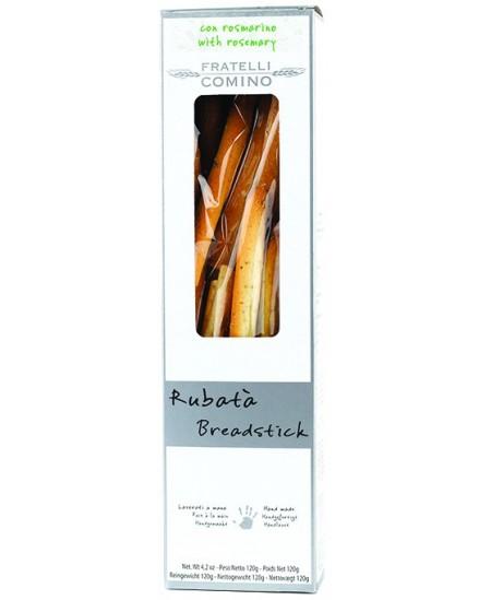 Duonos lazdelės grissini FRATELLI COMINO Rubata, su rozmarinu, 120 g