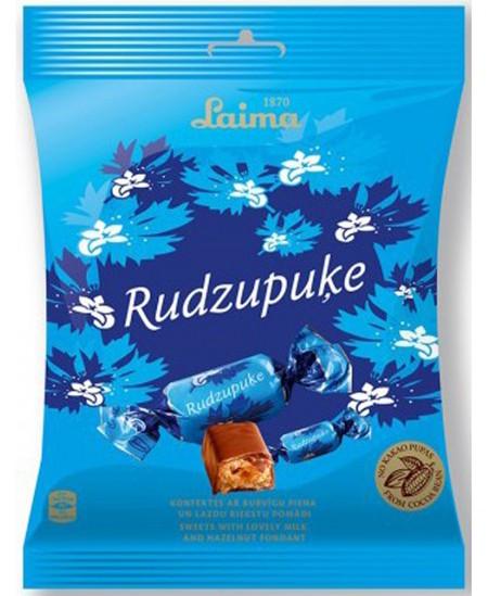Šokoladiniai saldainiai LAIMA RUGIAGĖLĖ, 160 g