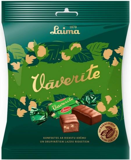 Šokoladiniai saldainiai  LAIMA VOVERAITĖ, 160 g